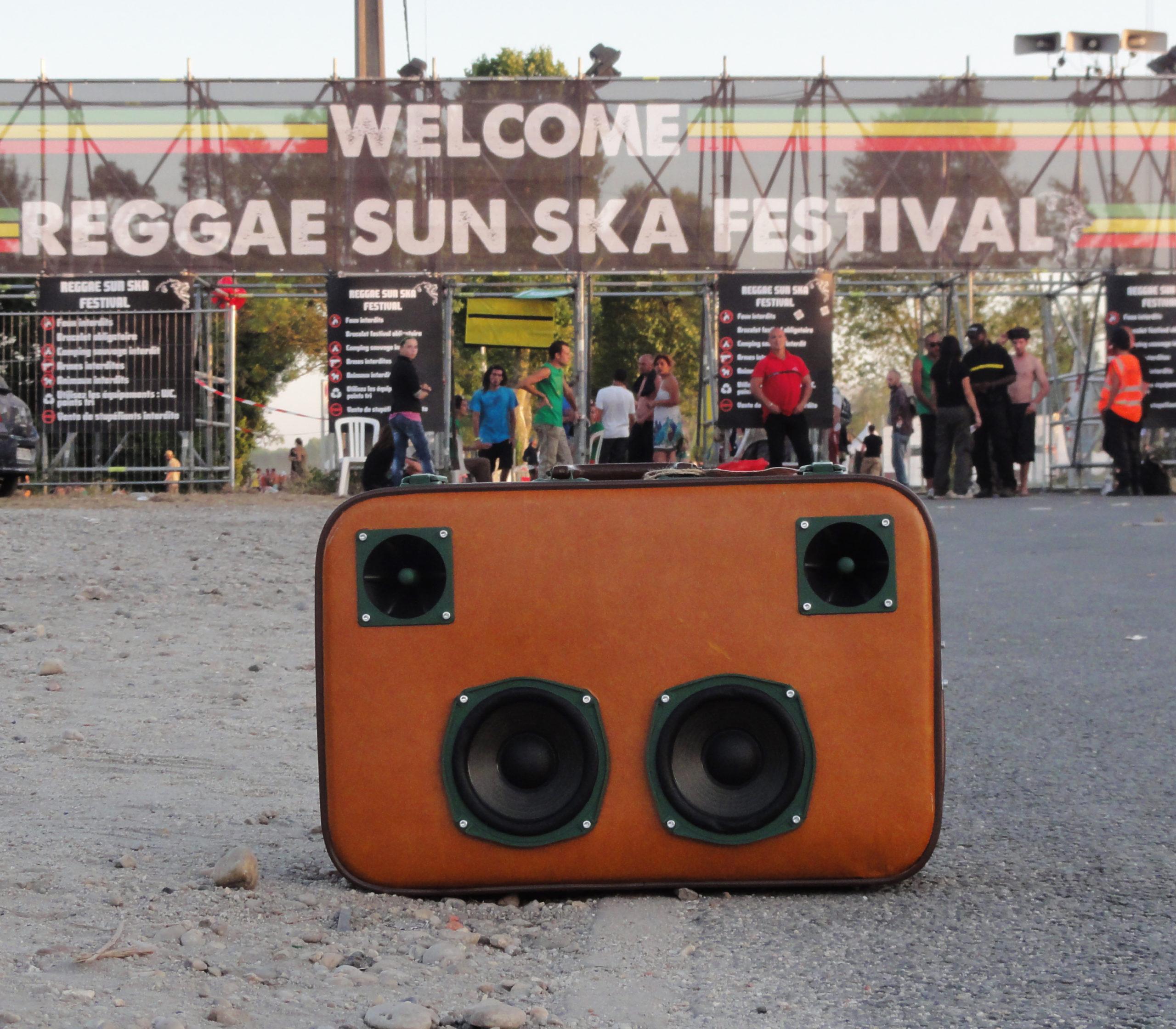 Valise Musicale au Reggae Sun Ska 2013