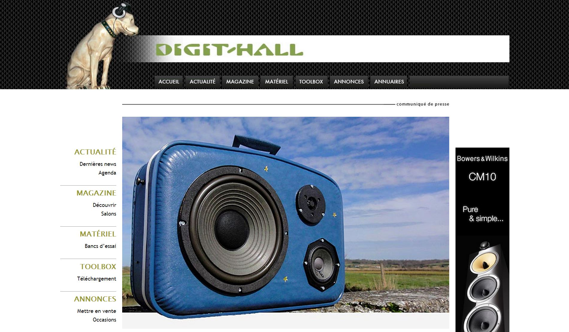 Valise Musicale chez Digit-Hall.com